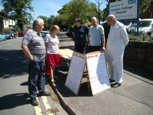Longton Cottage protest June 2015 005